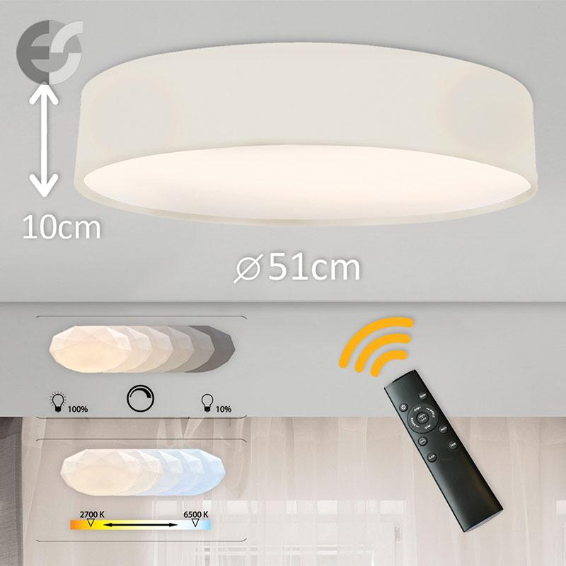 LED Plafon cu telecomanda Supreme 2 510100-EC-42W