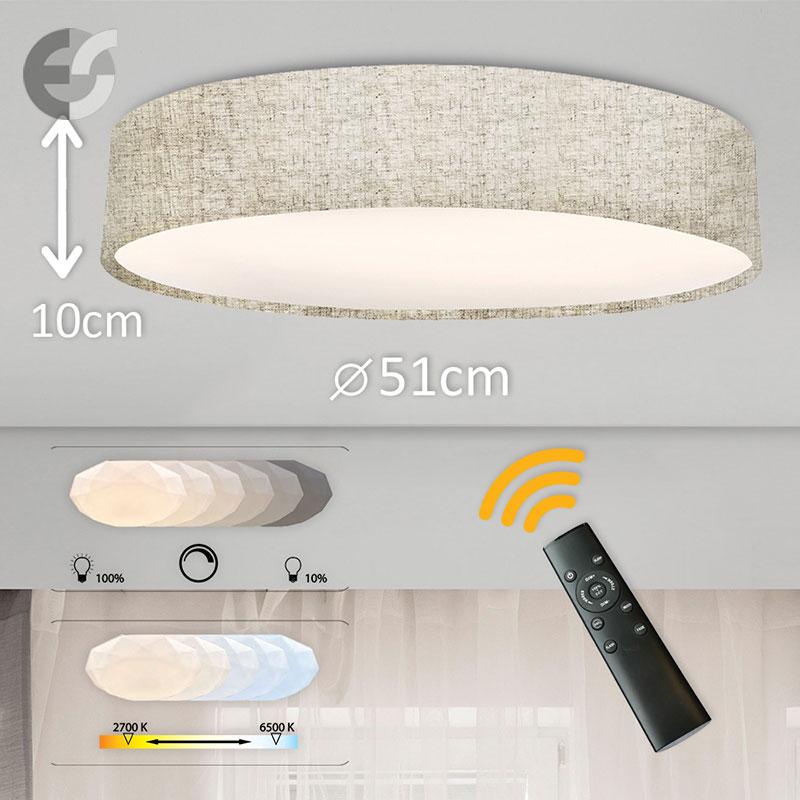 LED Plafon cu telecomanda Supreme 2 510100-A45-42W
