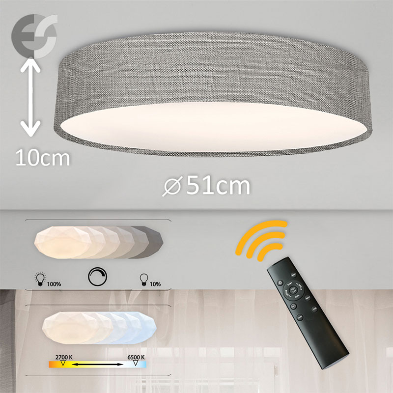 LED Plafon cu telecomanda Supreme 2