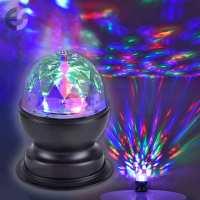 RGB LED Настолна лампа DISCO От Електро Стил